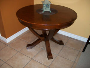 Round Wooden Table 42in Round x 30 1/2 in High