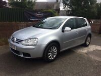 2008 (58) VW GOLF TDI MATCH, MOT APRIL 2018, WARRANTY NOT A3 FOCUS MEGANE 308