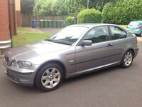 *LOW MILES ONLY 55k!* BMW 316 TI Compact 3 Door Petrol CHEAP not audi mercedes ford vauxhall