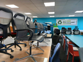 Office Furniture, Mesh chairs, OFFICE desks, office chairs, storage