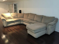 Lazy Boy sectional Couch with sofa bed