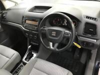 2012 62 SEAT ALHAMBRA 2.0 CR TDI S DSG 5D AUTO 140 BHP DIESEL