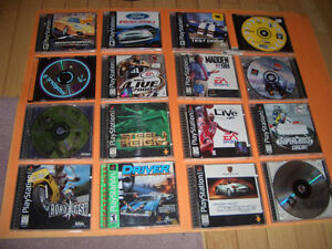 (32) PLAYSTATION 1 GAMES FOR SALE WWE SMACKDOWN,WCW MAYHEM