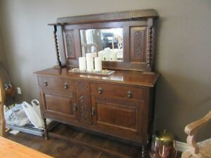 Antique Hutch/Sideboard