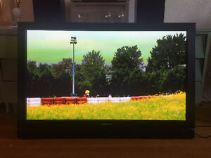 "50"" Samsung Plasma TV with brand new tilting wall mount!"