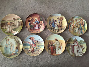 "Mint Limited edition ""Beloved hymns of childhood"" plates"