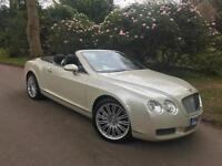 Bentley Continental 6.0 GTC MULLINEAR,IN PEARLESCENT WHITE,
