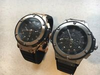 BRAND NEW HUBLOT BIG BANG RARE LIMITED EDITION ROLEX U-BOAT FENDI BURBERRY TOM FORD AP