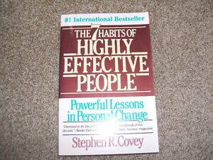 7 Habits of Highly Effective People-2 copies available London Ontario image 2