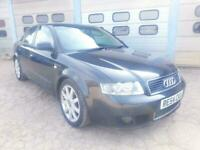 AUDI A4 1.8 T LIMITED EDITION 4DR BLACK - FULL LEATHER - TRADE SALE - CLEARANCE