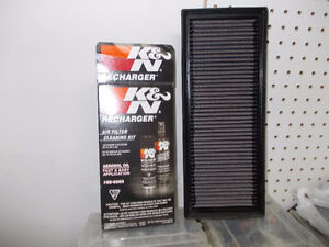 K&N High Flow Filter and Recharge Kit for 2009 Jetta TDI