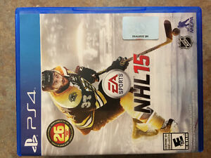 NHL 15 for PS4