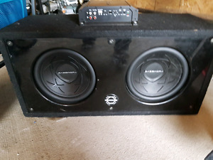 Bassworx subs. Amp. Box