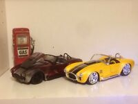 Wanted diecast car collection