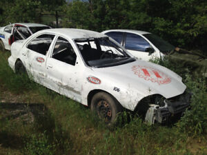 2001 Pontiac Sunfire Stock Car - PASCAR Race Car