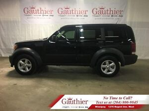 2007 Dodge Nitro SXT 4WD w/Sunroof LOCAL*