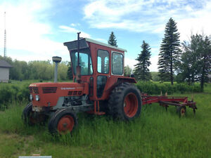 1976 Duetz 65 HP Tractor with Cultivator Runs Great