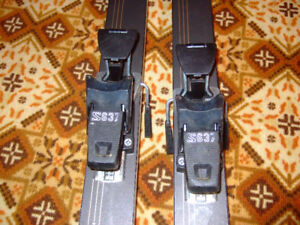 downhill skis and poles for sale - $20