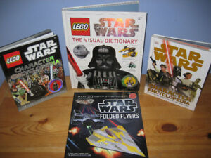 Star Wars Character Dictionary,Encyclopedias & Folded Flyer Book