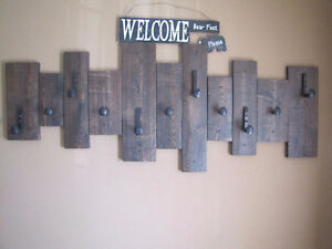 Reclaimed Barn Board Coat Hooks Cambridge Kitchener Area image 3