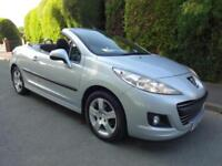 Peugeot 207 CC Convertible 2012 1 Owner FSH by Peugeot Long Mot PX Welcome