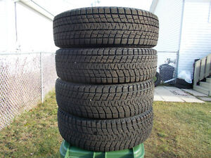 p255/60/18 inch Bridgestone Winter Tires / LIKE NEW / GOOD DEAL