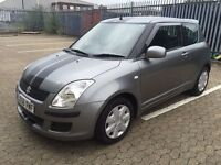 2009 SUZUKI SWIFT GL 1328cc,Petrol Manual 5 Speed 3 Door, mileage 69,678