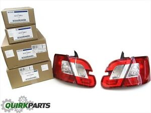 2010-2012 Ford Taurus Inner Trunk & Outer Tail Light Lamp Backup Set OEM NEW