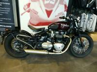 2019 '68 TRIUMPH BONNEVILLE BOBBER, ONLY 1016 MILES, GREAT SPEC & IMMACULATE