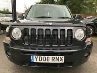 08 plate - Jeep Patriot 2.0CRD Sport - 8 months mot - warranted 104K miles -2wd