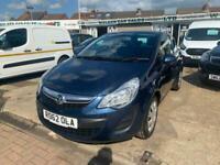2012 Vauxhall Corsa 1.4 Exclusiv 3dr Auto [AC] Hatchback Petrol Automatic