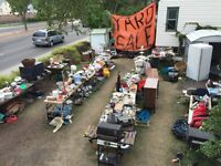 Biggest yard sale in the history of Edmonton. You must see this