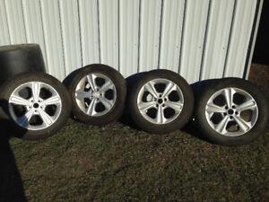 Tires, 235/55R 17