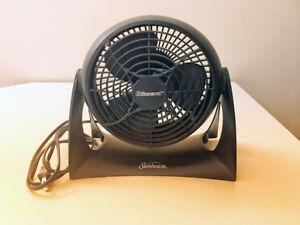 Sunbeam Blizzard 8-inch Table Desk Power Fan