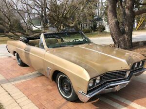 1967 Buick Skylark Convertible 300 2 Barrel Powerglide Auto