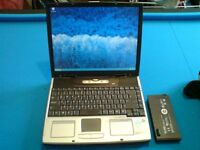 ADVENT LAPTOP-WINDOWS 7 -40 GIG HARD-MS OFFICE 2013 -GOOD CONDITION-DVD-WIFI-FREE DELIVERY