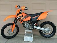 2007 KTM 250 XCF VERY LOW HOURS!!!