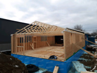 Exteriors renovation& framing