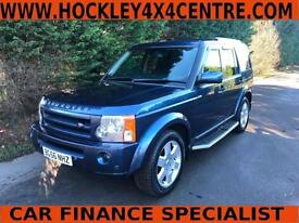 56 REG LAND ROVER DISCOVERY 3 HSE 2.7 TDV6 AUTOMATIC 4X4 7 SEATER
