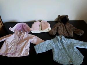 18 month jackets/ vest