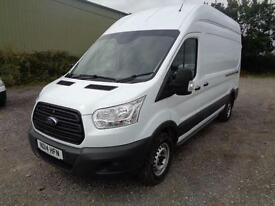 Ford Transit 2.2 Tdci 100Ps H3 Van DIESEL MANUAL WHITE (2014)