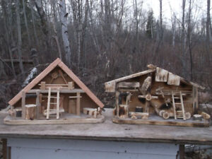 Hand  crafted  sheds