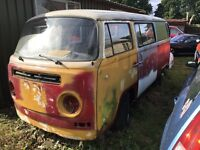 Volkswagon Camper 1970 RHD Crossover Bay Window Tin Top