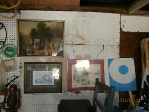 various paintings for sale
