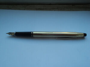 Cross Century Classic Gold fountain pen.  $450 new.