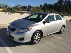 2009 Toyota Corolla,Auto,Local,Low KM
