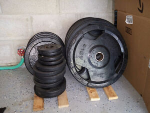 Olympic Weights + Attachment