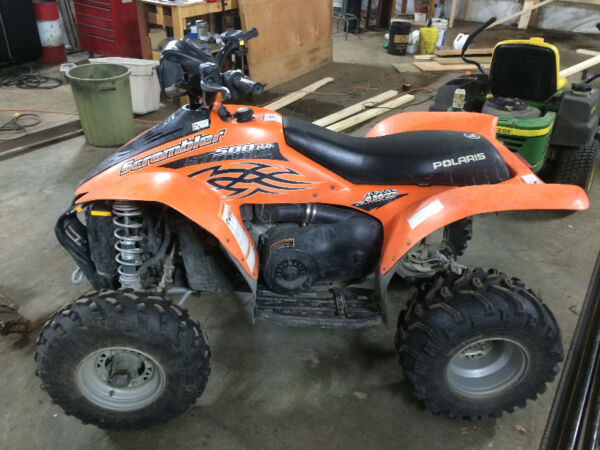 Used 2006 Polaris Scrambler 500 High Output