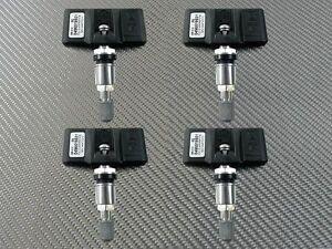 4PCS TPMS Tire Pressure Monitor System Sensors For 2007-2010 BMW E90 E92 E60 E70