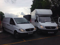 Friendly Low Cost MAN AND VAN (last minute)(every move accepted)from £20 ph